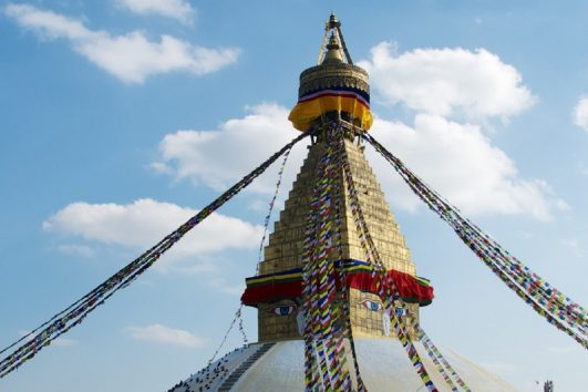 Nepal - Kathmandu - Boudhanath