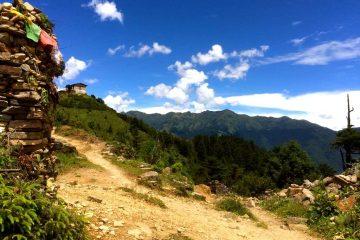 Bhutan Tsaluna trekking