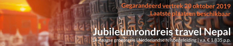 Jubileum groepsreis Nepal