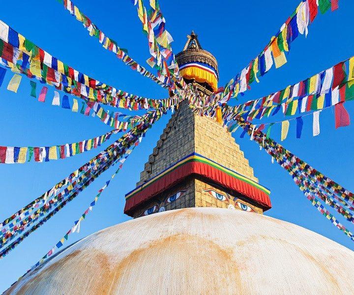 Nepal - Kathmandu - Boudhanath stoepa