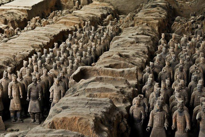 Terracotta leger in Xi'an China