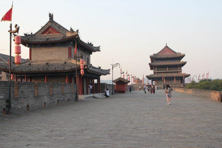 De muur om de stad Xi'an