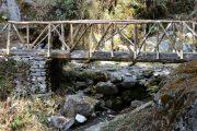Culturele eco-trekking Helambu brug
