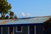 Culturele eco-trekking Helambu lodge uitzicht himalaya