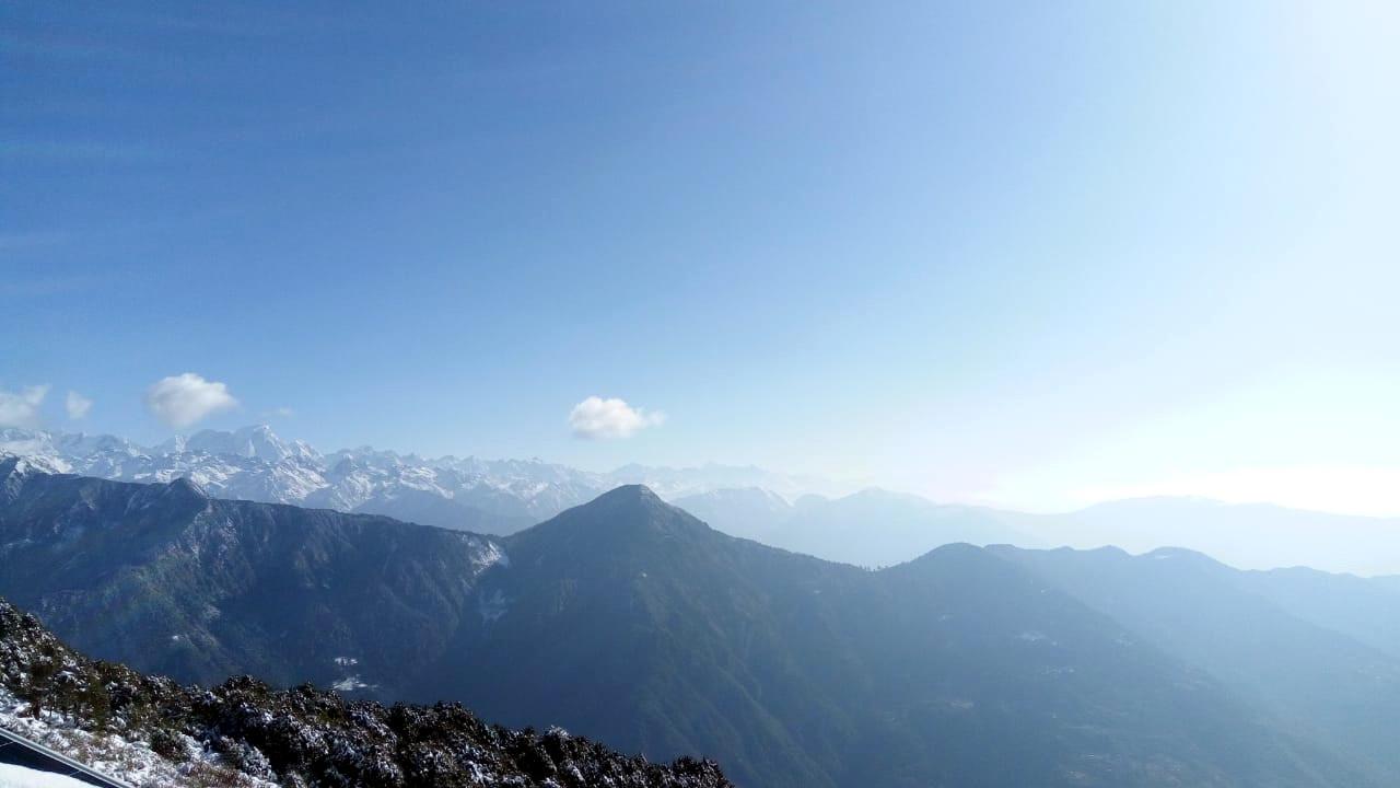 Culturele eco-trekking Helambu uitzicht