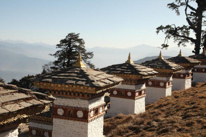 Dochu La pas Bhutan