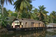 India Kerala Alleppey Houseboat backwaters