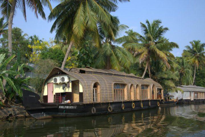 India Kerala Alleppey Houseboat backwaters