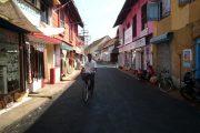 India Kerala Cochin Op straat