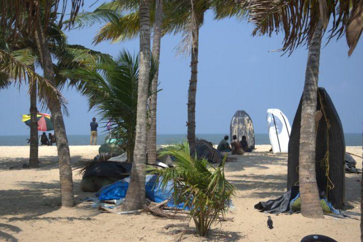 Strand in Kerala