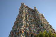 India Tamil Nadu Madurai Meenakshi Amman tempel overzicht