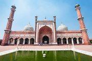 Jama Masjid moskee in Delhi