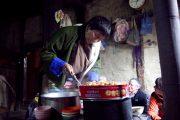Lokaal huis in Bhutan