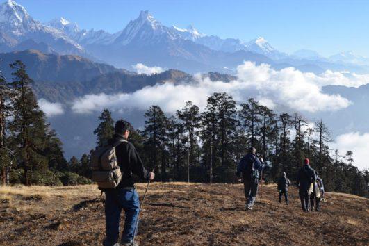 Wandelen op Mohare Hill