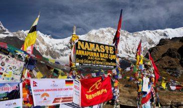 Namaste in Annapurna Base Camp