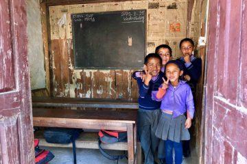 Nepal - Bandipur - Schoolkinderen