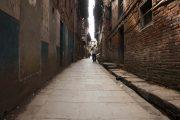 Nepal Bhaktapur Smalle straat