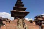 Nepal Bhaktapur Tempel Durbar