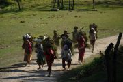 Nepal - Chitwan Nationaal Park - Lokale community