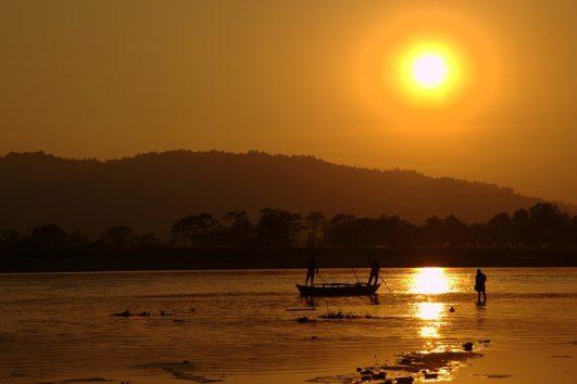 Nepal - Chitwan Nationaal Park - Sunset