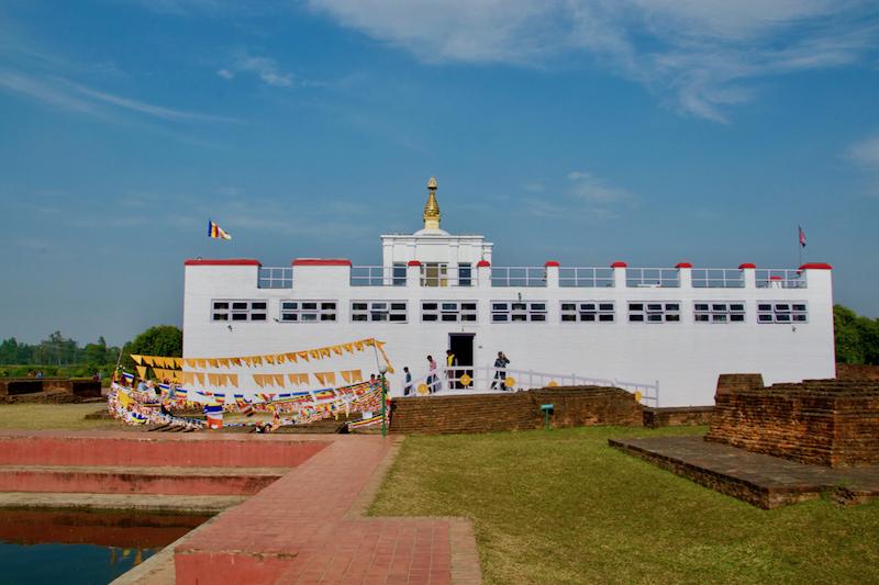 Lumbini, de geboorteplaats van Boeddha