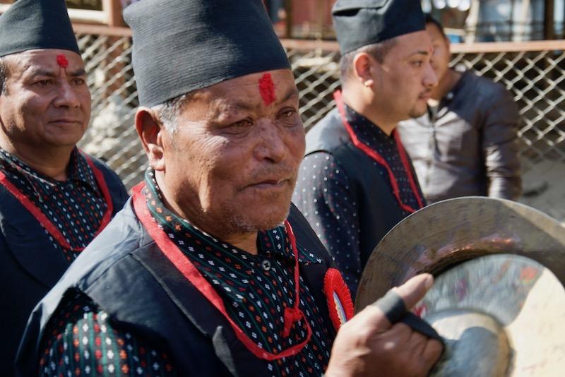 Newari-festival in de Kathmandu Vallei