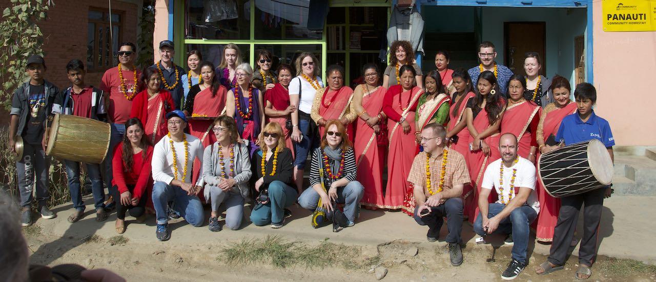 Nepal - studiereis - groepsfoto