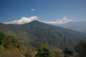 Nepel - Annapurna - uitzicht