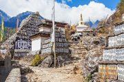 Nepal - Everest - Mani stenen