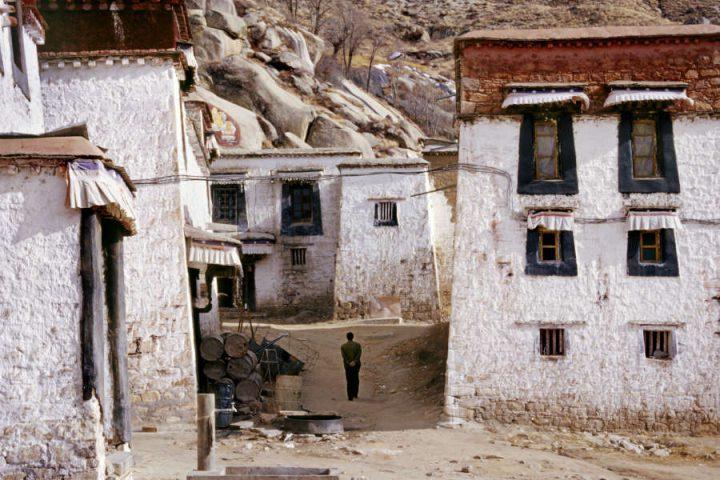 Omgeving Drepung klooster