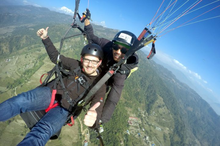 Paragliding in Pokhara - Nepal