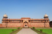 Het Rode Fort in Agra