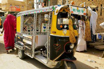 Riksja in Jaisalmer