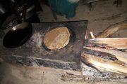 Roti in de keuken in Rara Nationaal Park Nepal