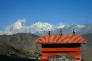 Nepal - Annapurna - Tempel in Muktinath