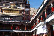Klooster in Shigatse Tibet