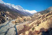 Nepal - Annapurna - Marsyangdi rivier